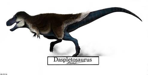 Daspletosaurus by BackOcean