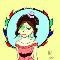 Harielle's Yule Ball Dress by Saturnesian