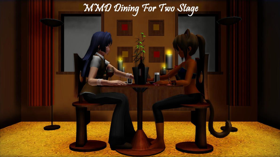 mmd dining for two stage