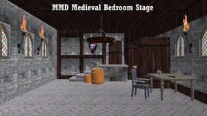 MMD Medieval Bedroom Stage ~Converted in SketchUp~