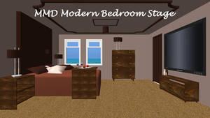 MMD Modern Bedroom Stage ~converted in sketchup~