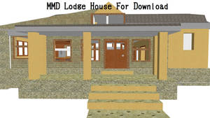 MMD - Lodge House Download