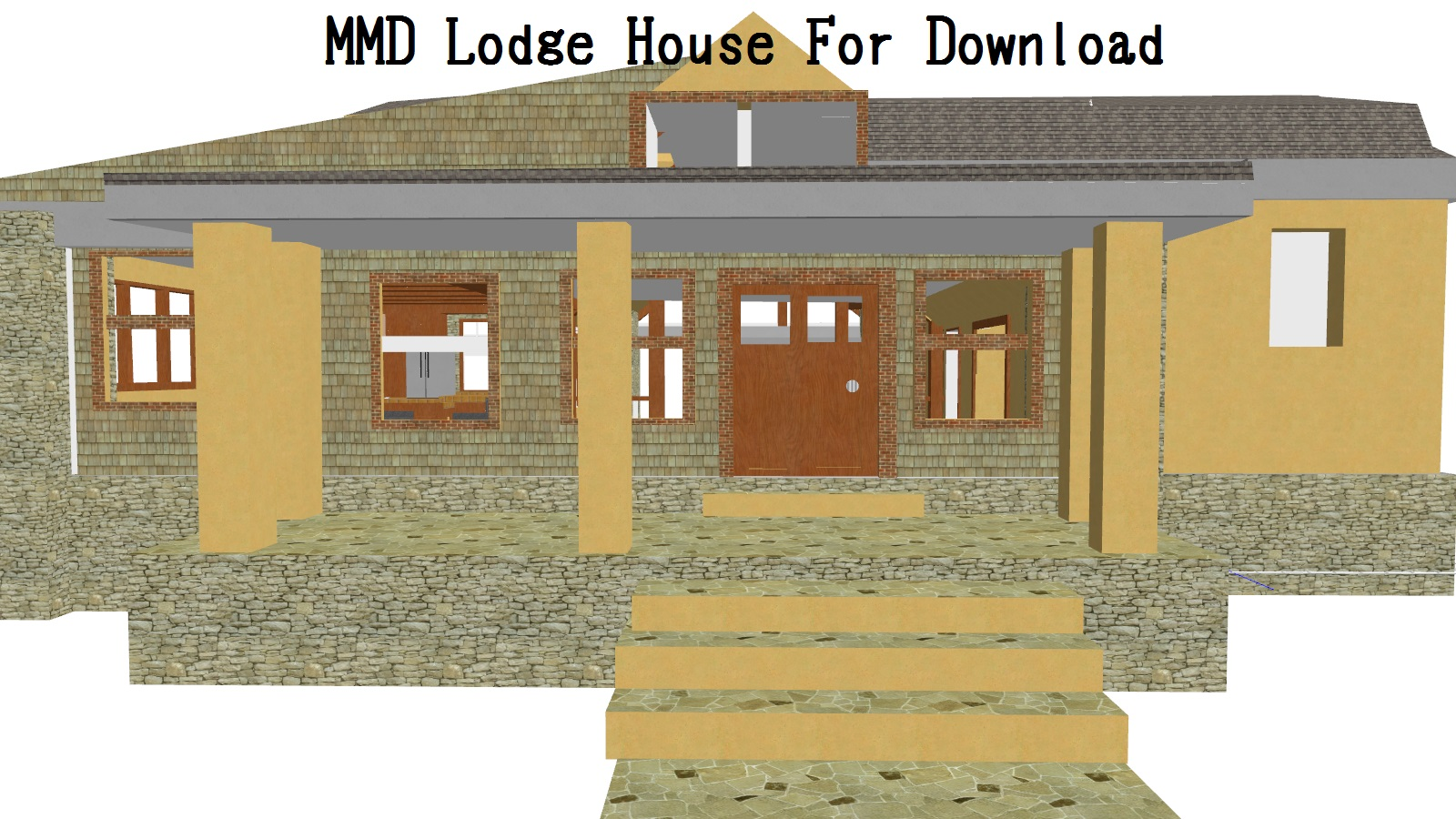 mmd lodge house download by xxfrenchtoastxx - House Picture Download