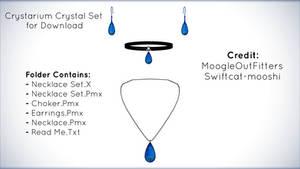 Crystarium Crystal Set for MMD Download