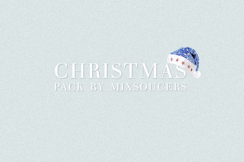 Christmas Pack By Mixsoucers