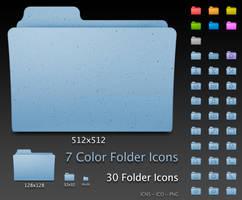 Default Leopard Folders by RocknGothAlien