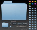 Default Leopard Folders
