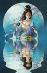 reflection in the lake by phoenixlu