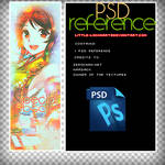 Anime Psd Reference