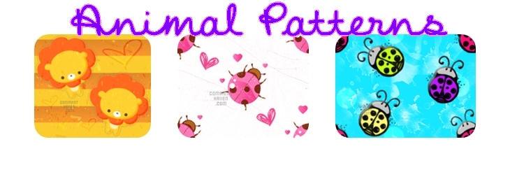 Animal Patterns by kvaughnp3