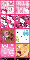 Hello Kitty Set 2