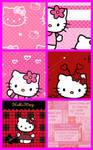Hello Kitty Pattern Set 4