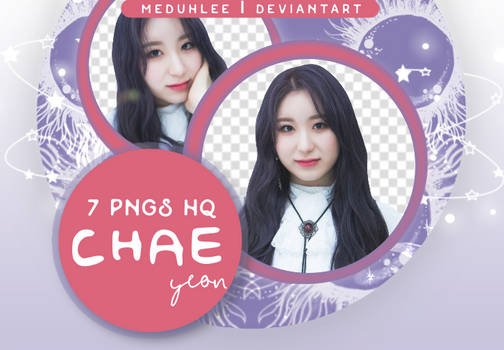 PNG PACK #17: CHAEYEON (NAVER X DISPATCH)