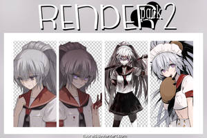 RENDER_PACK#2 - Akuma no Riddle by Fluorald