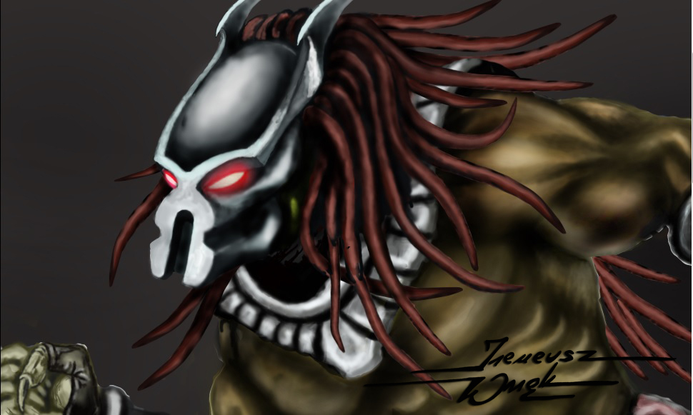 Old WIP Predator by JohnerPL