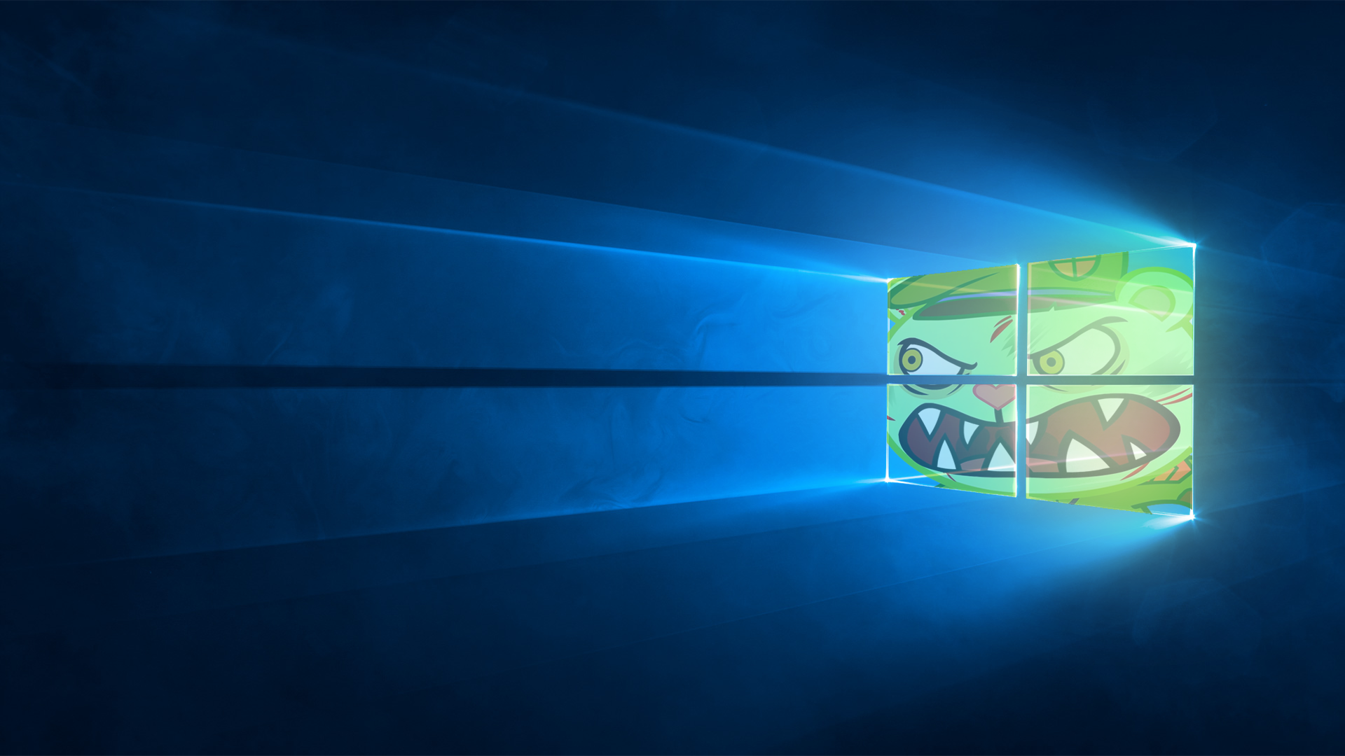 Windows 10 Fliqpy Edition Wallpaper by Xtianzarts