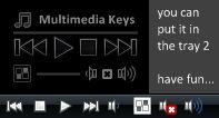 Dark Tango - Multimedia Keys