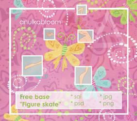 [Base 8] Figure skate by anulkabloom