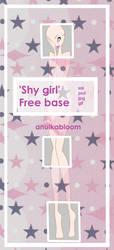 [base 11] Shy girl by anulkabloom