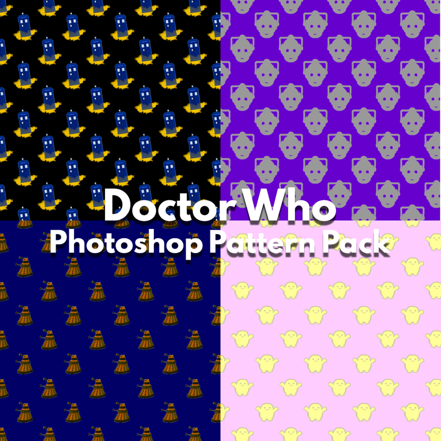 Doctor Who Photoshop Patterns by PoliteDemon on DeviantArt