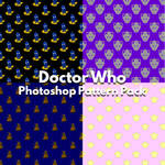 Doctor Who Photoshop Patterns