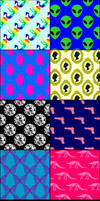 8 Misc. Patterns for Photoshop
