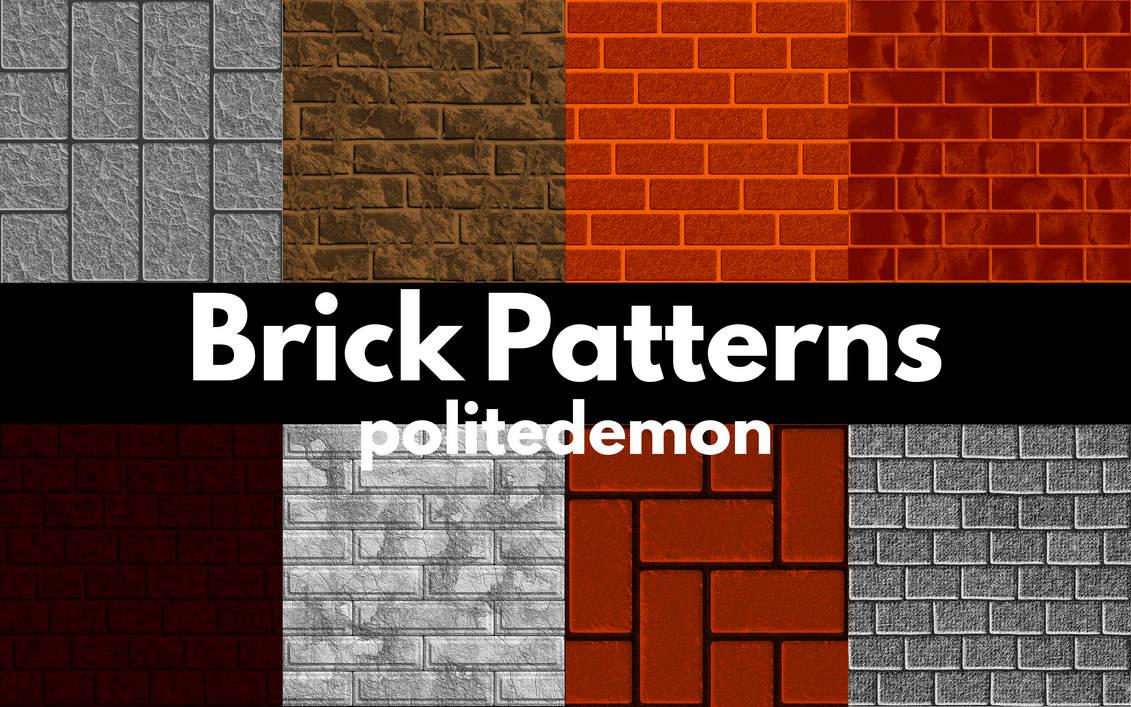Brick Patterns by PoliteDemon
