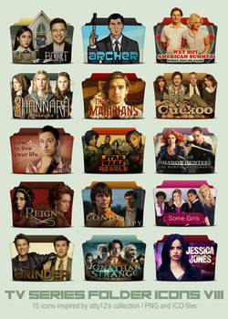 TV Series Folder Icons VIII