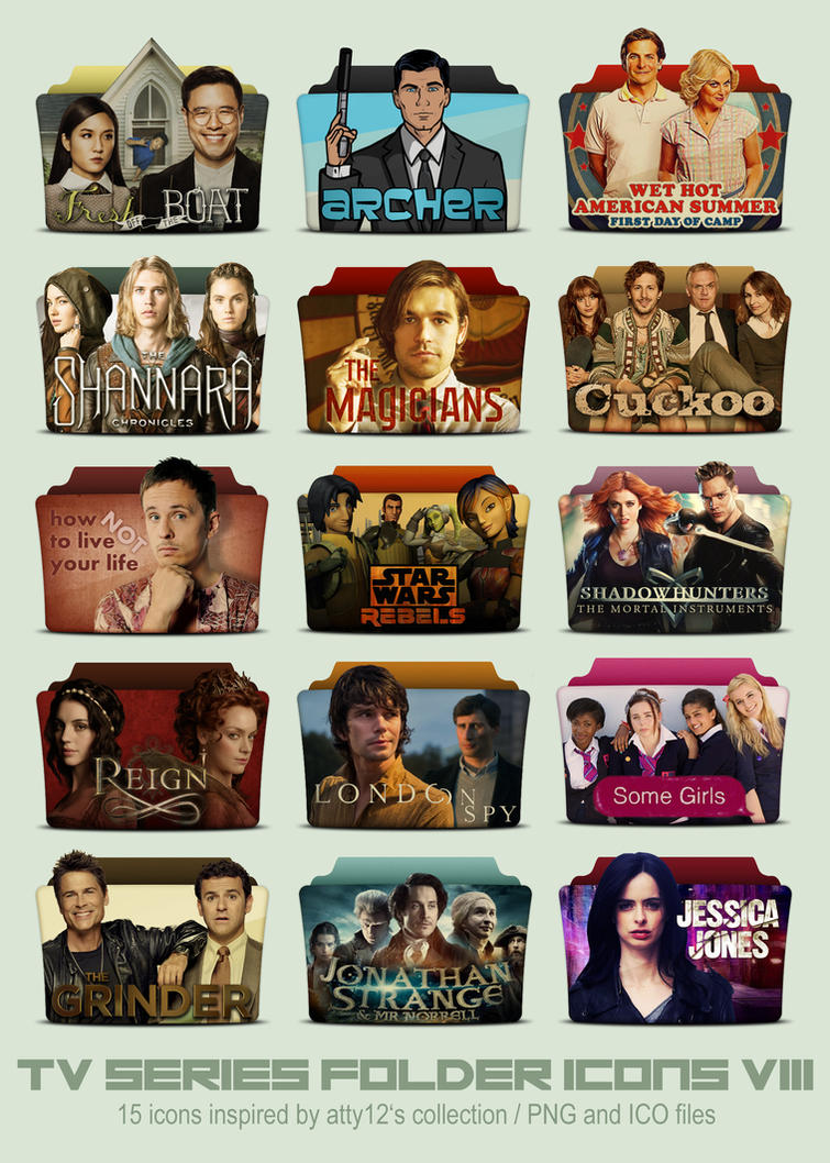 TV Series Folder Icons VIII by call-me-special ...