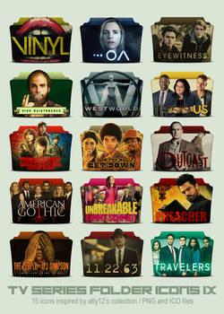 TV Series Folder Icons IX