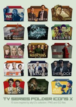 TV Series Folder Icons X