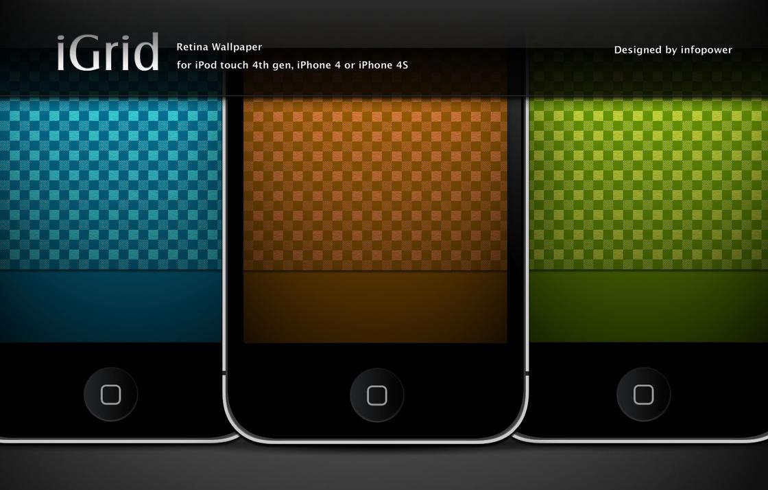 Wallpaper iphone retina - Igird Iphone Retina Wallpaper By Infopower