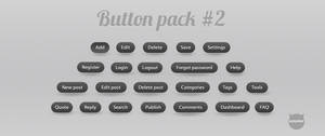 Webdesign buttons pack 2