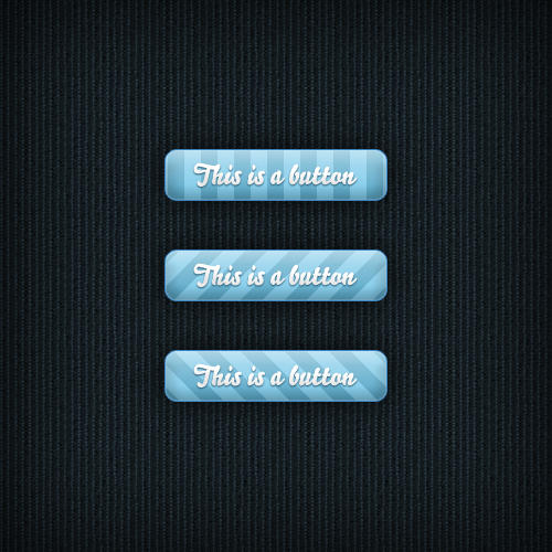 Free Web Striped Buttons Elements UI PSD