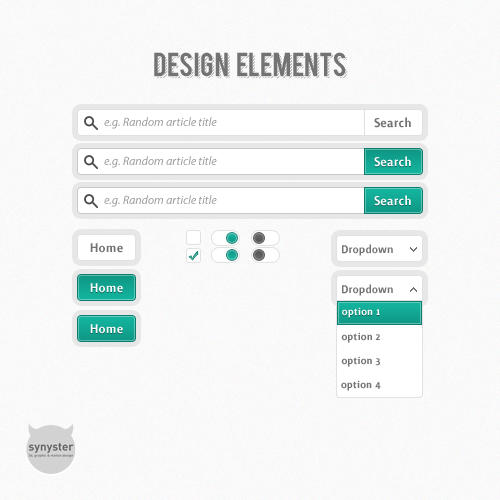 Design elements by synysternl