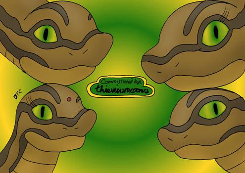 COMMISSION - Four Hypnotic Kaas
