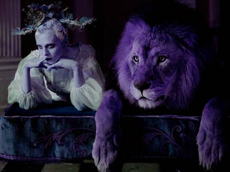 PSD COLORING #4 I Lion Tamer - by @ladywinchester by Themachan