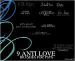 Anti Love psp brushes.