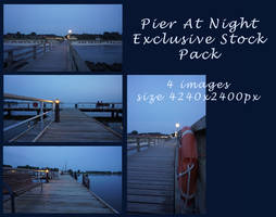Pier At Night - EXCLUSIVE