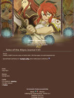 Tales of the Abyss Journal CSS by stardrop