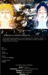 Naruto vs Sasuke Journal CSS by stardrop