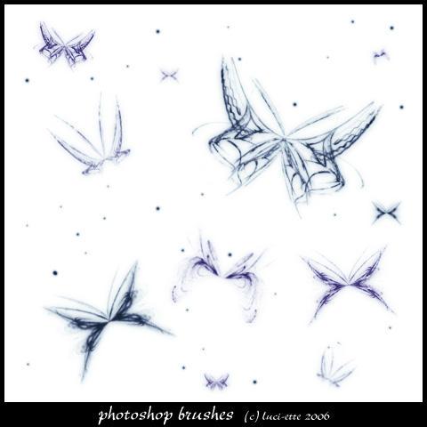 Fractal Butterflies 3 by luci-ette