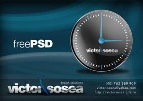 Clock - Free PSD by victorsosea