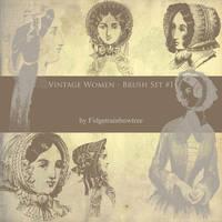 Vintage Women 1 by FidgetResources
