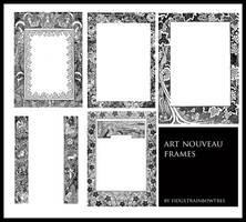 Art Nouveau Frames 1