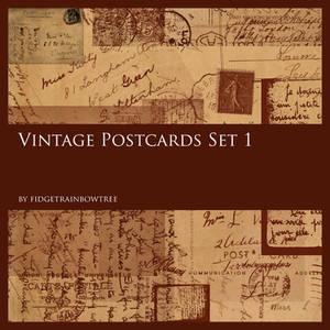 Vintage Postcards Set 1