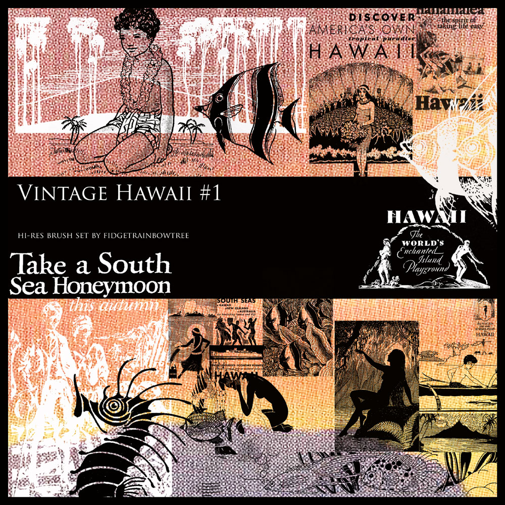 Vintage Hawaii - Set 1