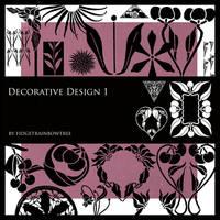 Decorative Design Set 1 by FidgetResources