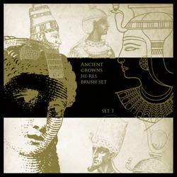Ancient Crowns Brush Set 1