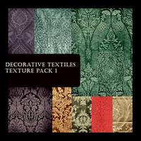 Decorative Textile Pack 1 by FidgetResources